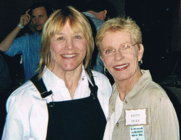 Geri Jewell and Patty Duke