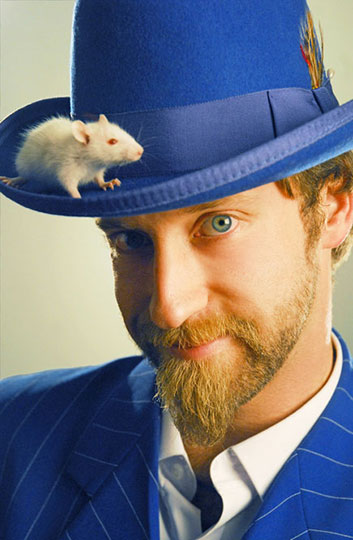 Josh Blue with mouse