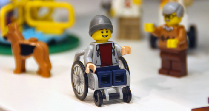 Toys Matter: LEGO's New Minifigure in a Wheelchair