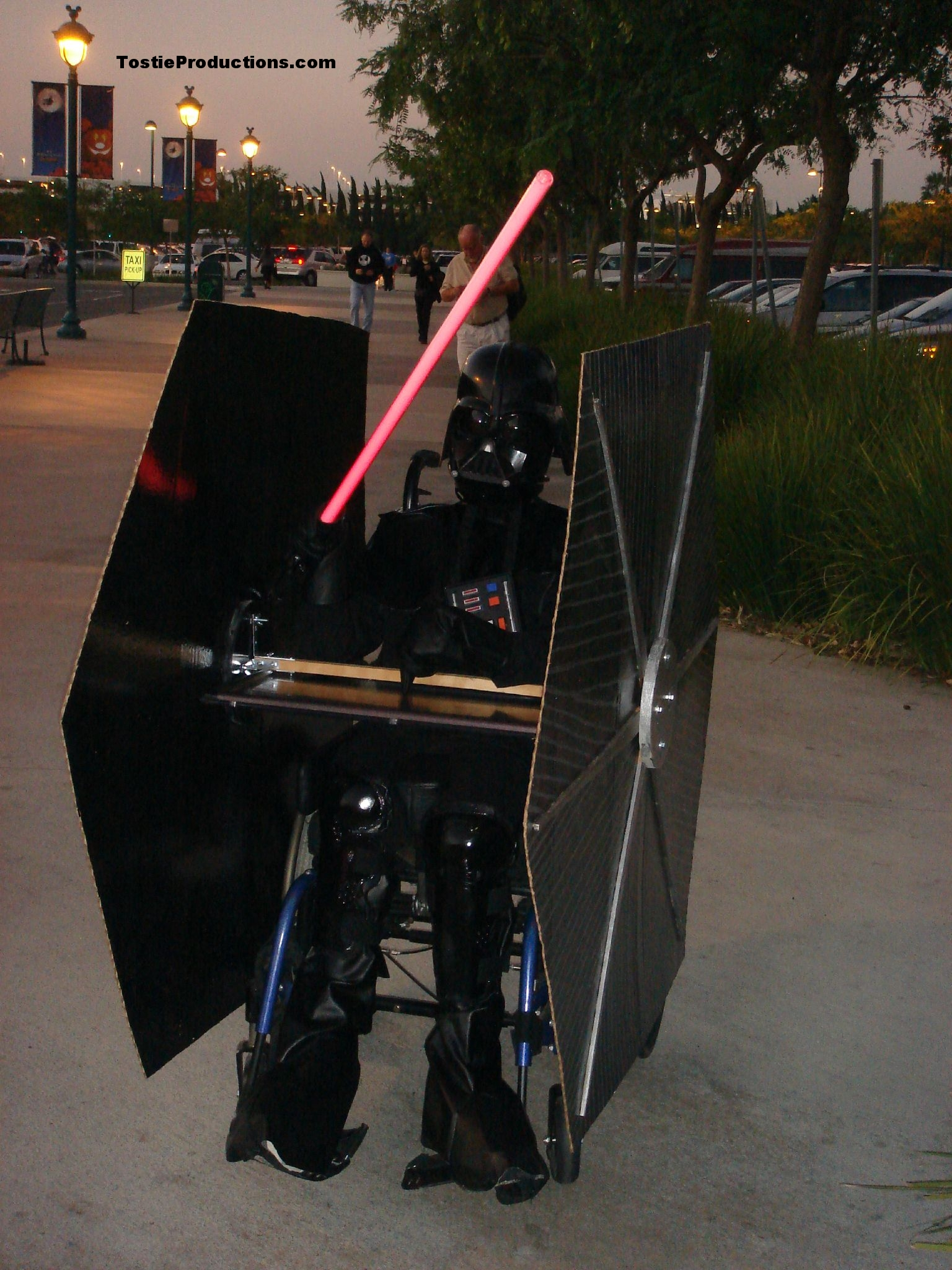 Darth Vader Wheelchair Costume